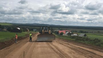 В Башкортостане ведется строительство объездной дороги вокруг Магнитогорска
