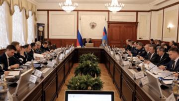 Тимур Мухаметьянов принял участие в заседании Коллегии Минтранса России